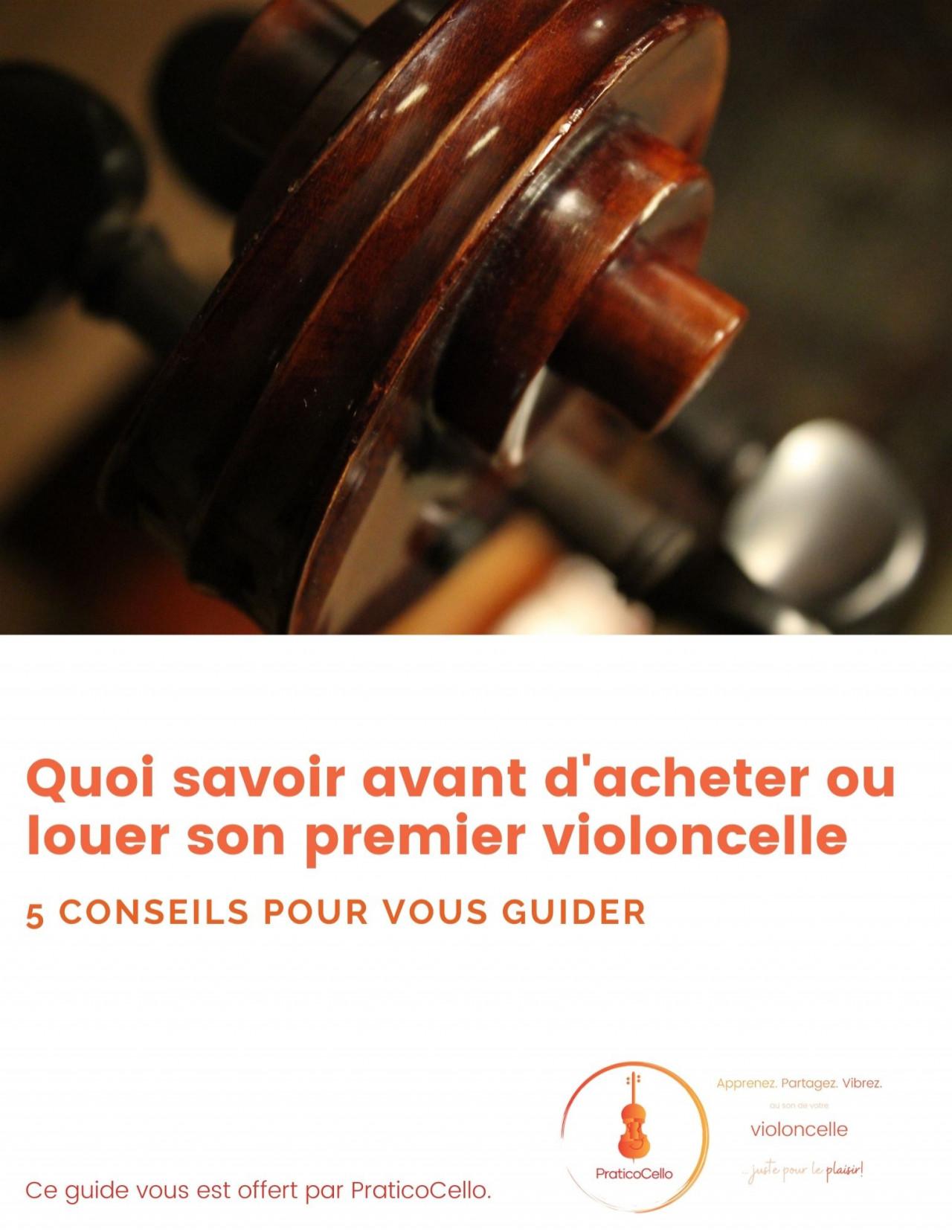 Guide d'achat et de location pour son premier violoncelle