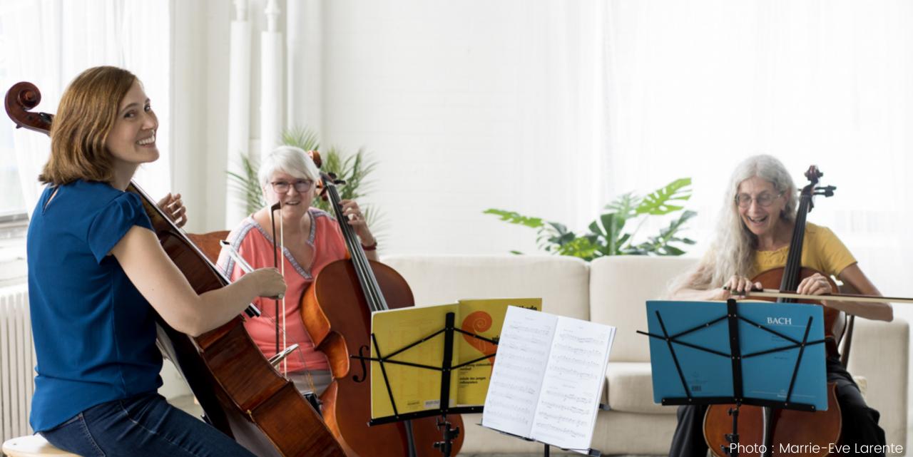violoncellistes amateurs adultes