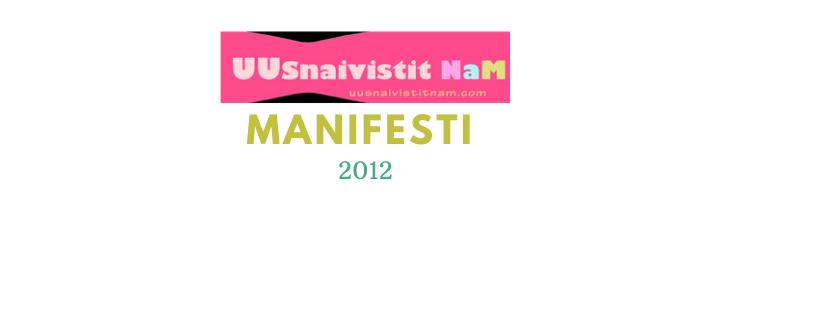 Uusnaivistit NaM manifesti