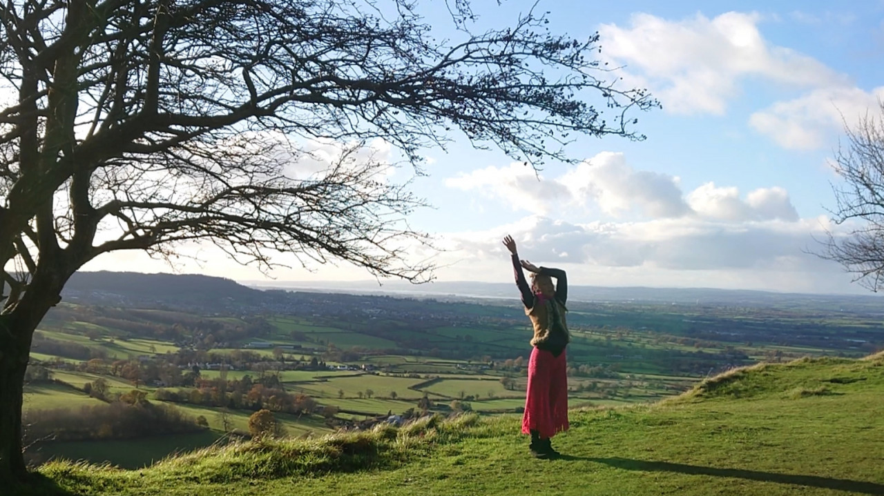 moving meditation and conscious dance outdoors