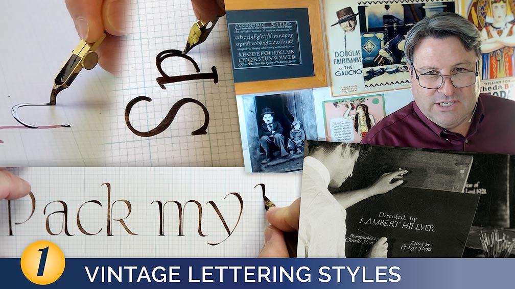 Vintage Lettering Styles