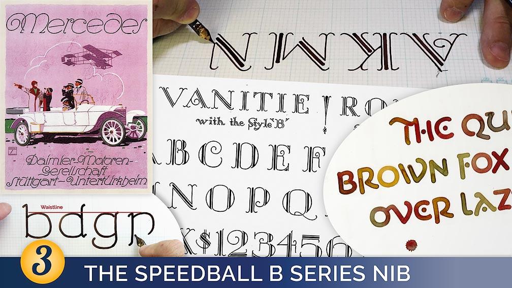 The Speedball B Series Nib