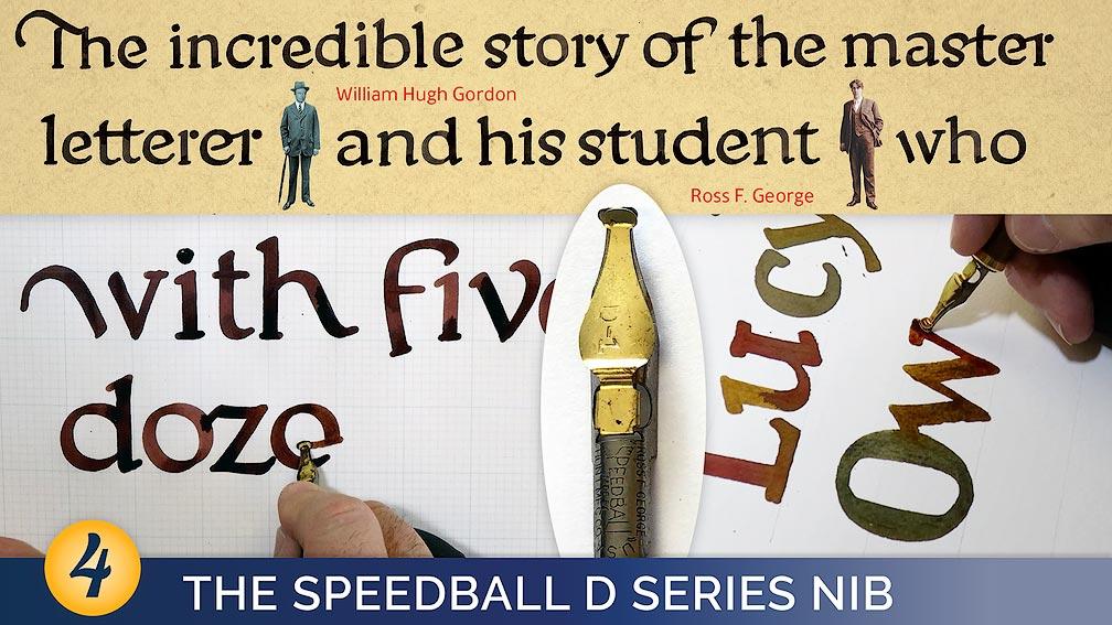 The Speedball D Series Nib