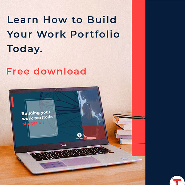 guideline for building a work portfolio to present your best side to employers and clients