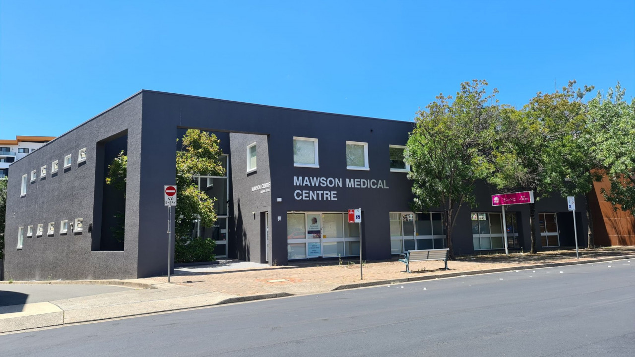 Evolution Health Services massage clinic located within the Mawson Medical Centre Campbelltown NSW