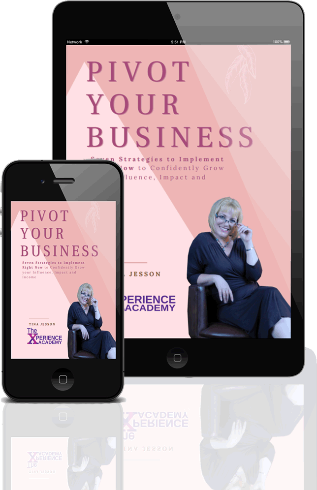 Pivot your business by Tina Jesson