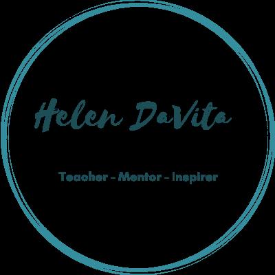 circular logo of Helen DaVita