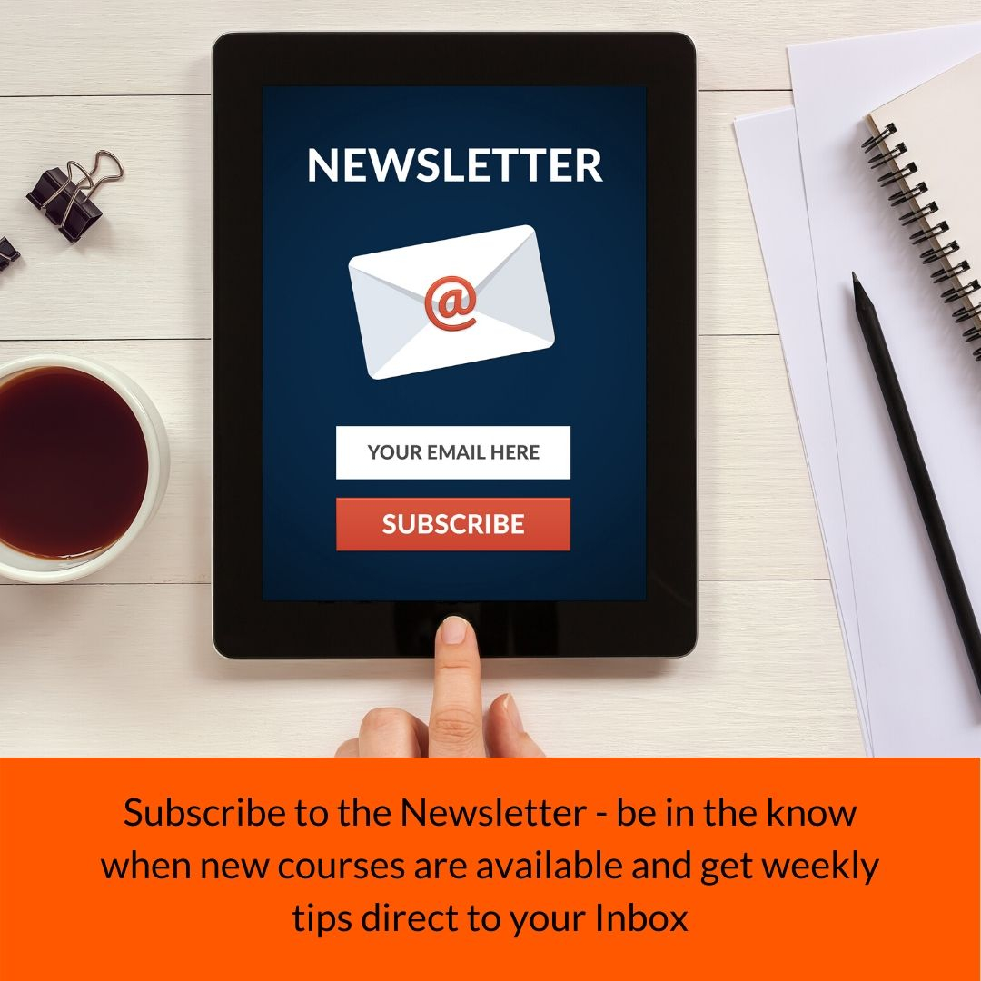 sign up for the weekly newsletter