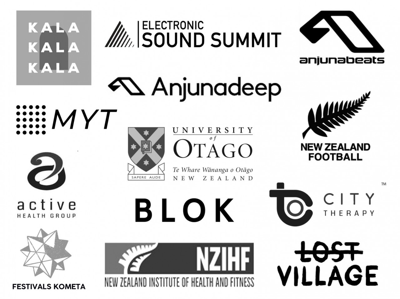 logos of different companies
