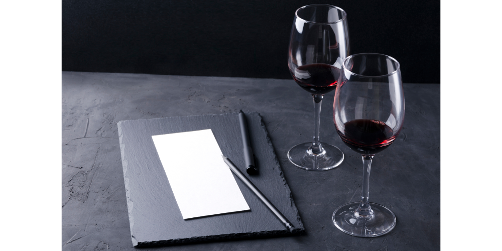 Blank Wine Tasting note