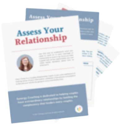 HOW TO EVALUATE YOUR RELATIONSHIP OR MARRIAGE