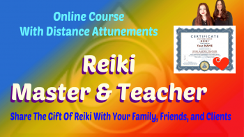 Reiki Master and Teacher