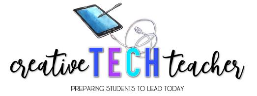 Creative Tech Teacher website logo