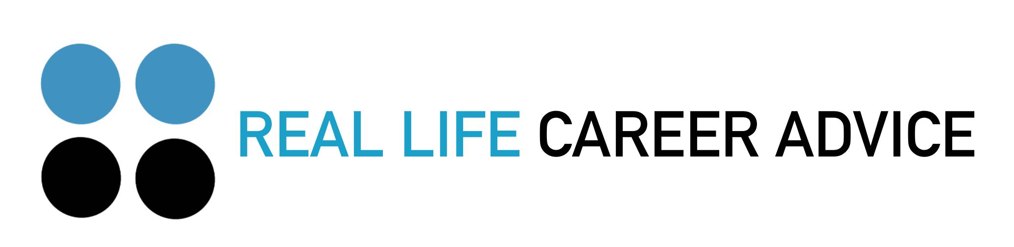 Real Life Career Advice Logo