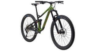 Alpine Trail 7 front 3/4, green/black/orange