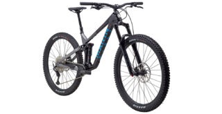 Alpine Trail Carbon 1 front 3/4, gloss black/blue