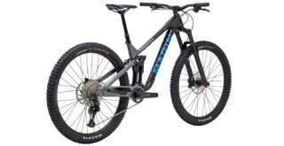 Alpine Trail Carbon 1 rear 3/4, gloss black/blue