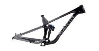 2021 Marin Alpine Trail Carbon 2 frame kit, profile.