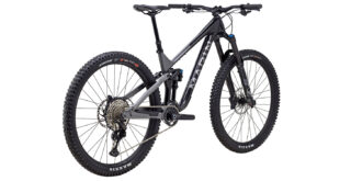 Alpine Trail Carbon 2 rear 3/4, gloss black/silver