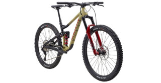 Alpine Trail XR front 3/4, tan/black/red
