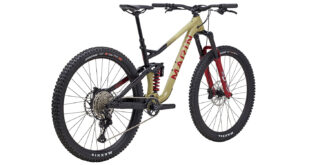 Alpine Trail XR rear 3/4, tan/black/red
