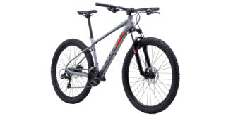 Bolinas Ridge 1 front 3/4, gloss grey/black/roarange