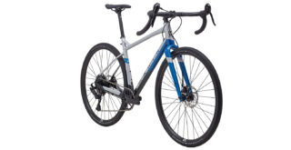 Gestalt X10 front 3/4, silver/blue/black