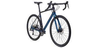 Gestalt front 3/4, gloss black/blue
