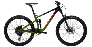 2021 Rift Zone 27.5 1, gloss black/green/orange