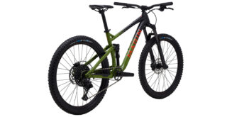 2021 Rift Zone 27.5 1 rear 3/4, gloss black/green/orange