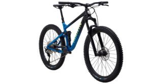 Rift Zone 27.5 2 front 3/4, gloss black/blue/yellow