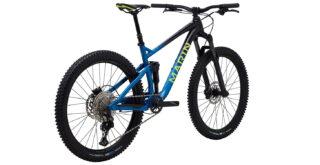 Rift Zone 27.5 2 rear 3/4, gloss black/blue/yellow