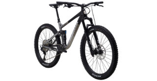 Rift Zone 27.5 3 front 3/4, gloss black/charcoal/silver