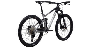 Rift Zone 27.5 3 rear 3/4, gloss black/charcoal/silver