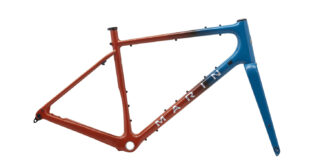 2021 Marin Headlands frame kit, profile.