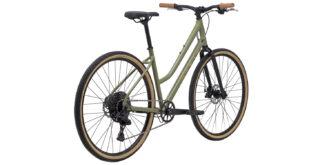 Kentfield 2 rear 3/4, gloss green/brozne/black