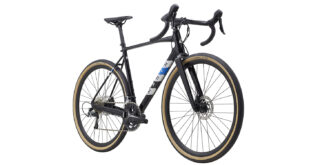 Lombard 2 front 3/4, gloss black/reflective silver/blue