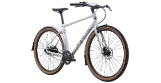 Muirwoods RC front 3/4, satin silver/black