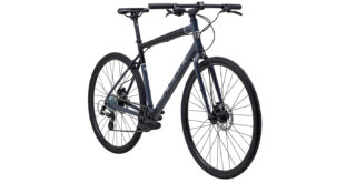 Presidio 1 front 3/4, gloss black/grey