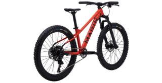 San Quentin 24 rear 3/4, gloss red/black