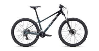 2022 Marin Wildcat Trail 3 Gloss Black/Grey/Silver profile.