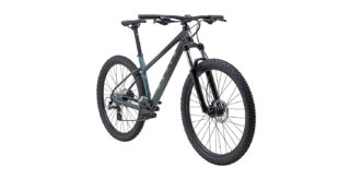 2022 Marin Wildcat Trail 3 front view Gloss Black/Grey/Silver.