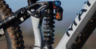 Marin Alpine Trail E2 shock detail.