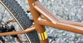 Marin DSX 2 frame detail.