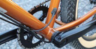 Marin Larkspur 2 crank/bottom bracket detail.