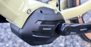 Marin Sausalito E1 Shimano STEPs drive unit.