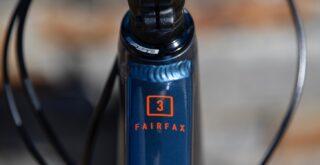 Marin Fairfax 3 frame detail.