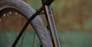2022 Marin Muirwoods frame detail.
