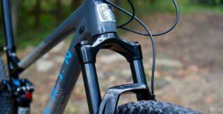 Marin Rift Zone 29 1 fork detail.