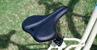 Marin Stinson ST1 saddle detail.